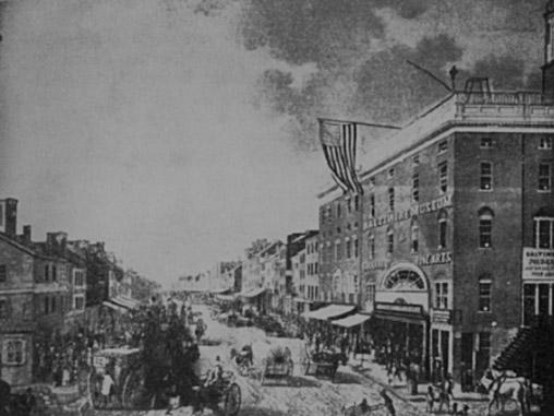 Baltimora nel 1849