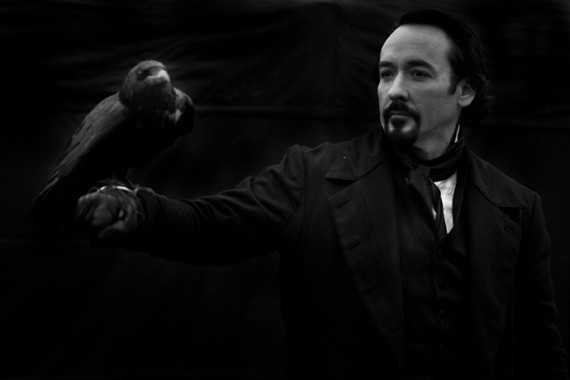 John Cusack è Edgar Allan Poe