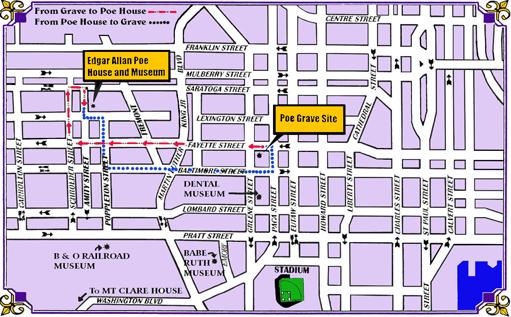 Mappa di Baltimora