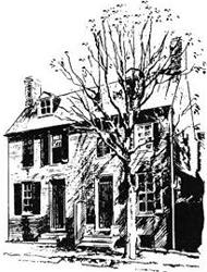 Casa di Poe a Baltimora nel 1833