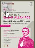 Locandina dell'evento su Poe