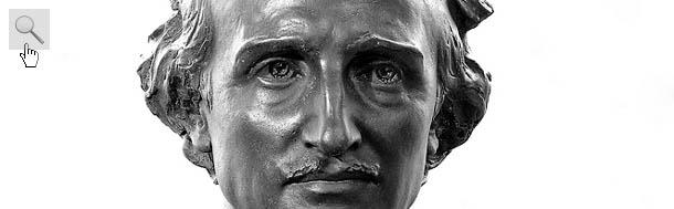 Busto di Edgar Allan Poe