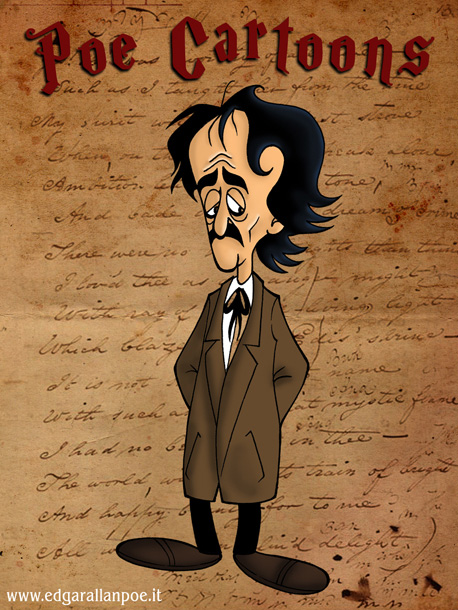 Copertina dell'album delle vignette su Poe