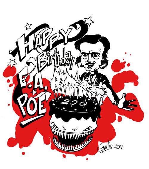 Caricature di Poe