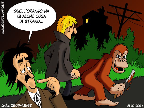 Poe e orango