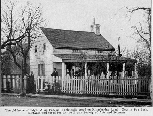 Il cottage di Poe nel Bronx