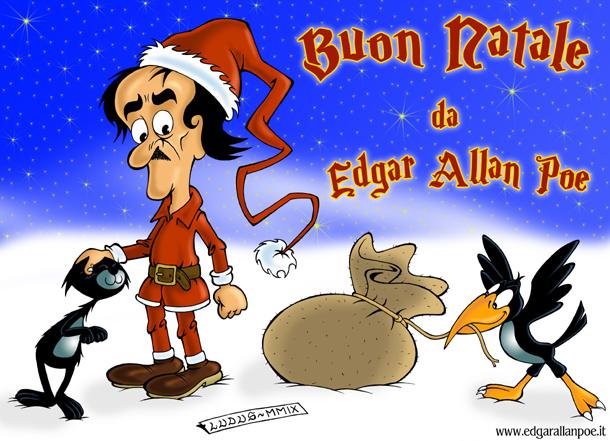 Cartolina Natale Poe