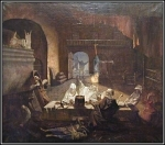 Memory of Edgar Poe. King the Plague