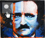 Poe dipinto da Marilyn Manson