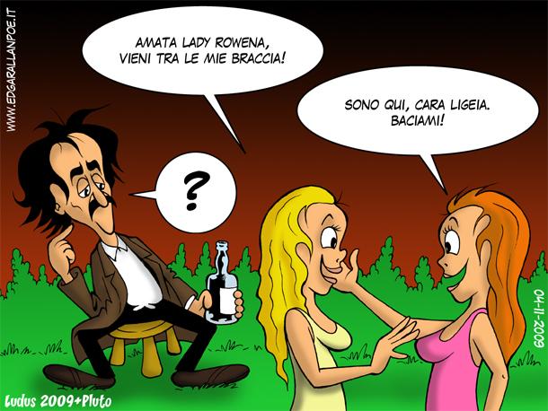 Poe e Ligeia
